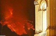 تصاویر شگفت انگیز فوران آتشفشان اتنا